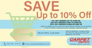 April 2019 Coupon Mableton