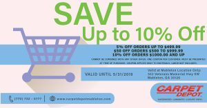 May 2019 Coupon