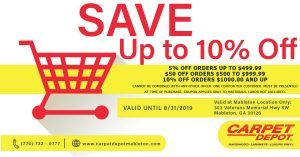 August 2019 Coupon