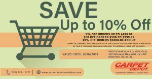 September 2019 Coupon