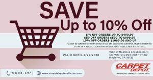 February 2020 Coupon